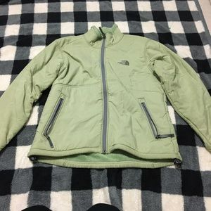 North face woman's zip up jacket